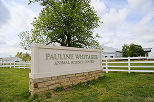 Pauline Whitaker Animal Research Center